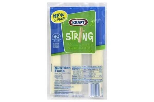 Kraft String Cheese 3ct Printable Coupon