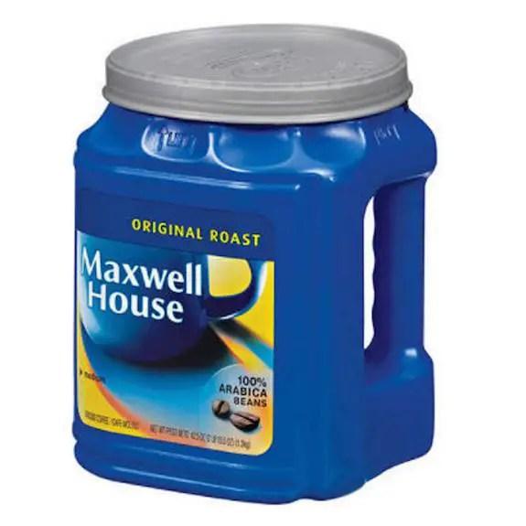 Maxwell House Coffee 42.5oz Printable Coupon
