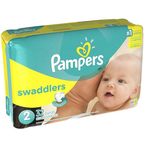 Pampers Swaddlers Jumbo Pack Diapers 32ct Printable Coupon