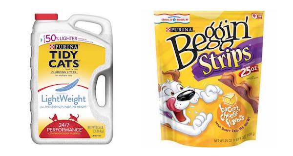 Purina Tidy Cat & Purina Beggin Printable Coupon
