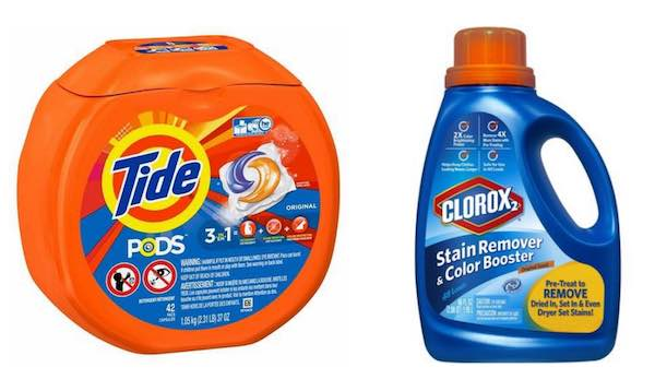 Tide & Clorox Products Printable Coupon