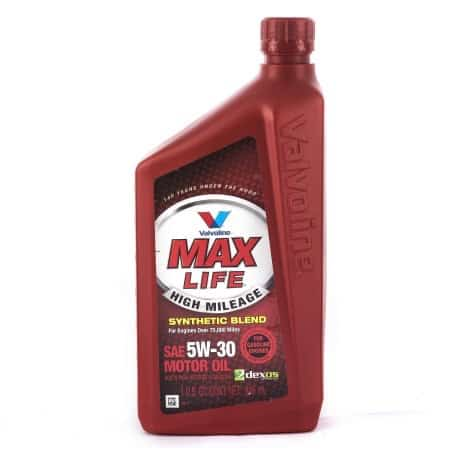 Valvoline MaxLife Motor Oil Quart Printable Coupon