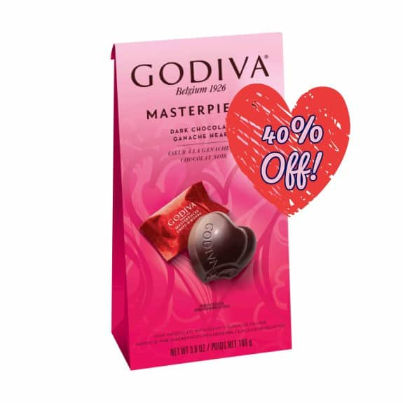New Godiva Valentine S Day Chocolate Just 2 65 Each At Target New Coupons And Deals Printable Coupons And Deals
