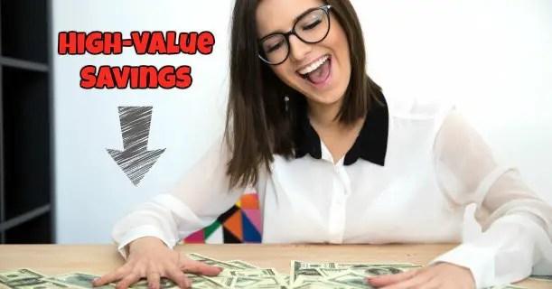 High-Value Savings Image