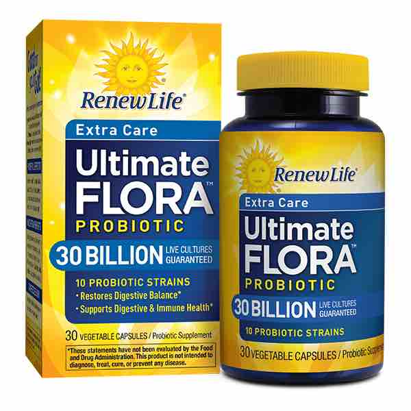 Renew Life Ultimate Flora Probiotic 30ct Printable Coupon