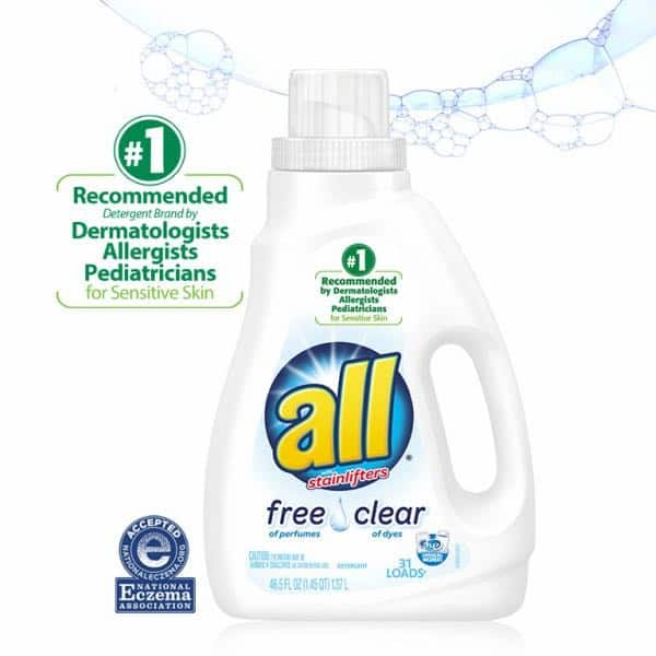 All Free Clear Laundry Detergent Products Printable Coupon