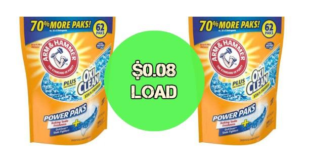 Arm & Hammer Single-Dose Laundry Detergent 62ct Image