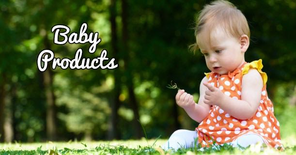 Baby Products In Field Image