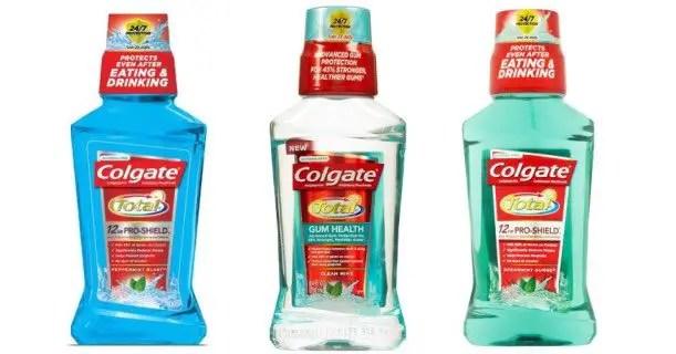 Colgate Mouthwash 8.4oz Bottle Printable Coupon