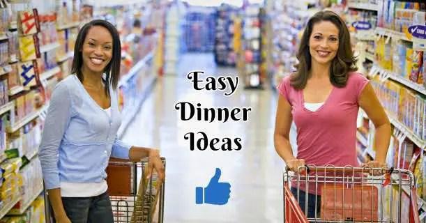 Easy Dinner Ideas Image