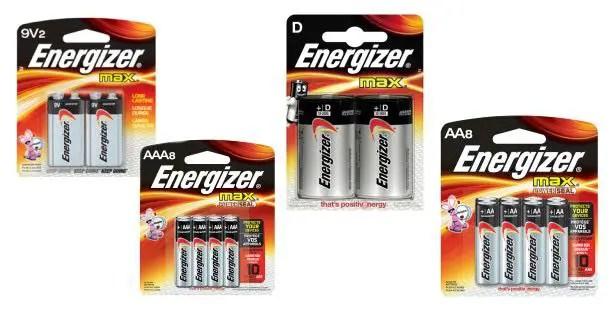 Energizer MAX Multi-Packs Image