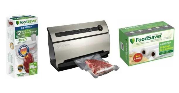 FoodSaver Food Preservation System & Bags & Rolls Image