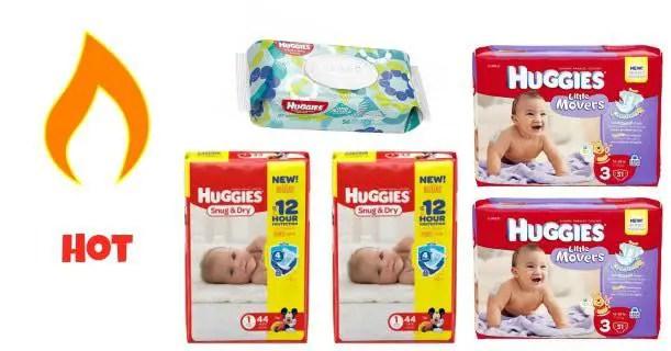 Huggies Jumbo Pack Diapers & Wipes Images