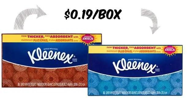 Kleenex 85ct Box Image