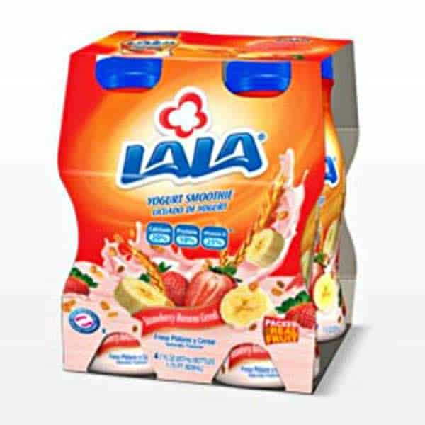 LaLa Yogurt Smoothie 4pk Printable Coupon