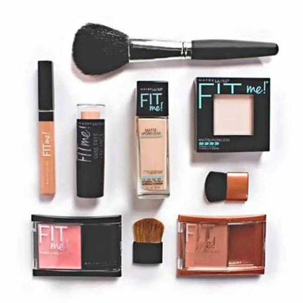 Maybelline-fit-me-foundation-blush-concealer-face-regimen-Image