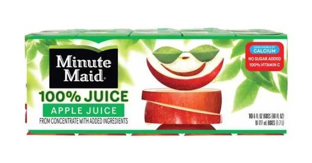 Minute Maid Juice Box 10pk Image