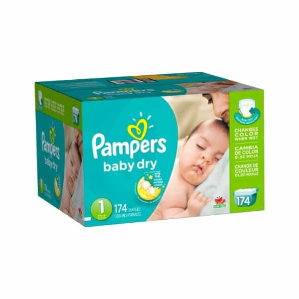 Pampers Baby Dry Diapers Giant Pack Printable Coupon
