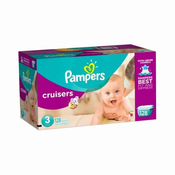 Pampers Cruisers Diapers Giant Pack Printable Coupon