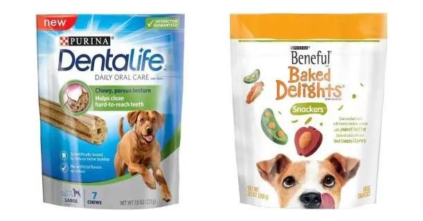 Purina Beneful & Dentalife Dog Treats Image