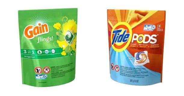 Tide Pods & Gain Flings 14ct Printable Coupon