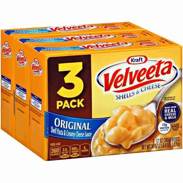 Velveeta Shells Cheese 3pk Printable Coupon