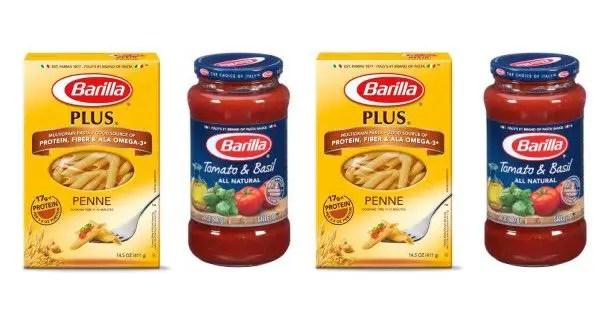 Barilla Pasta & Sauce Printable Coupon