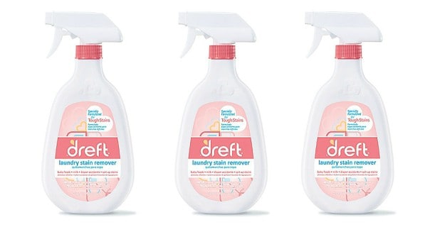 Dreft Laundry Stain Remover 22oz Bottle Printable Coupon