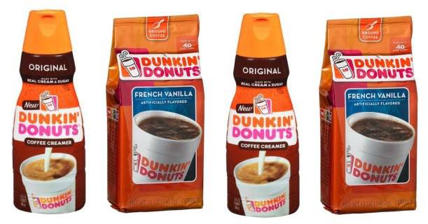 Dunkin' Donuts Coffee & Creamer Image