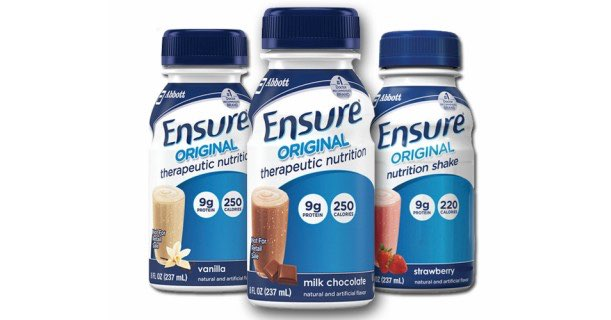 Ensure Original Therapeutic Nutrition Drinks Printable Coupon