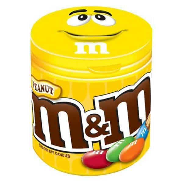 M&M's Candy Bottle Yellow Printable Coupon