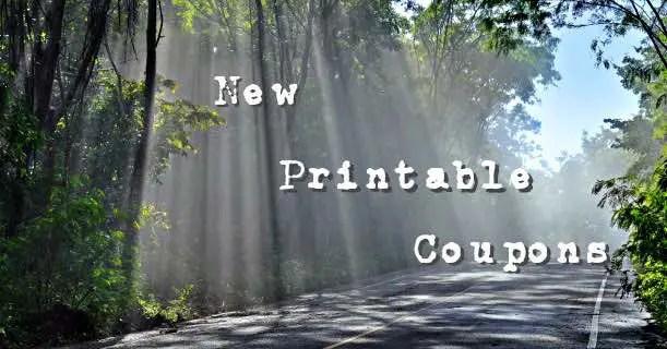 New Printable Coupons Image