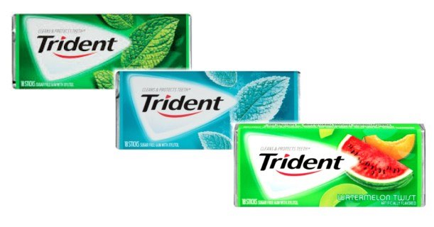 Trident Gum Single Packs Printable Coupon