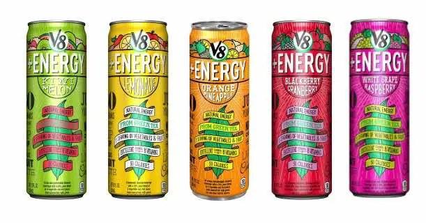 V8+Energy 12oz Cans Printable Coupon