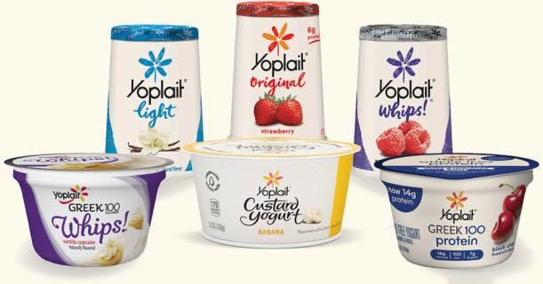 Yoplait Yogurt Products Image