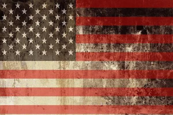 American Flag - United States of America Flag Illustration.