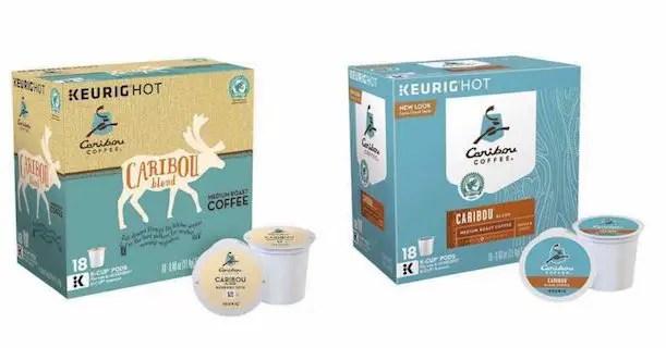 Caribou Coffee K-Cup Pods 18ct Printable Coupon