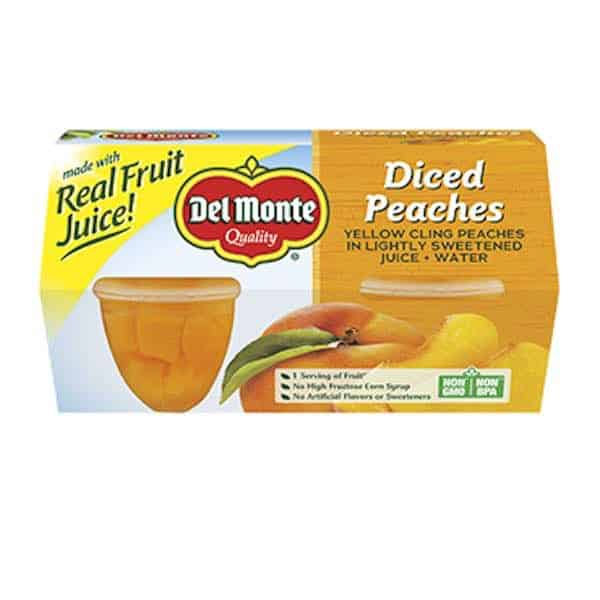 Del Monte Fruit Cup Snacks Printable Coupon
