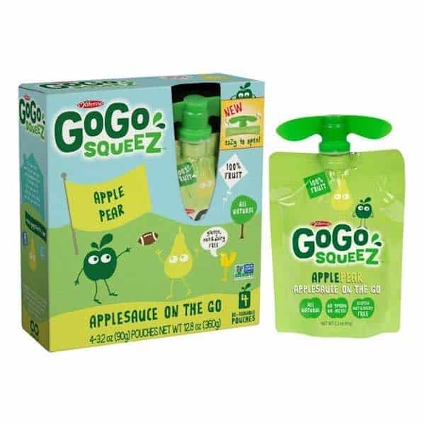 GoGo Squeeze Applesauce 4ct Packs Printable Coupon