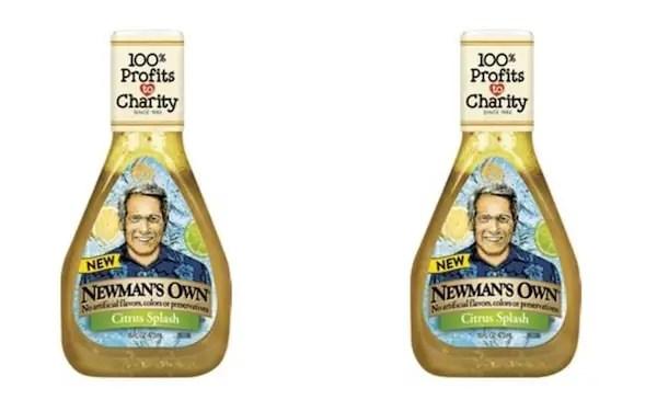 Newmans Citrus Splash Salad Dressing