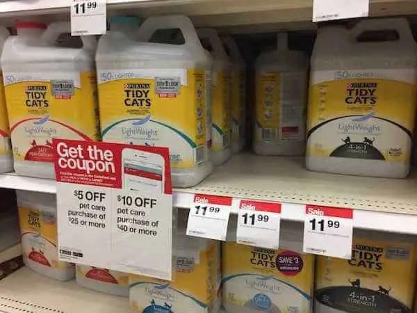 Purina Tidy Cats LightWeight Cat Litter 8.5lbs Printable Coupon