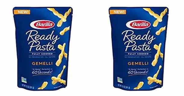 Barilla Ready Pasta Pouches