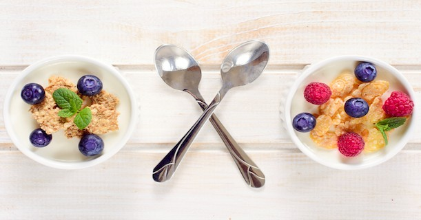 Cereals and berry fruit