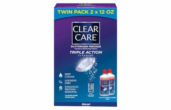 Clear Care Contact Solution Twin Pack Printable Coupon