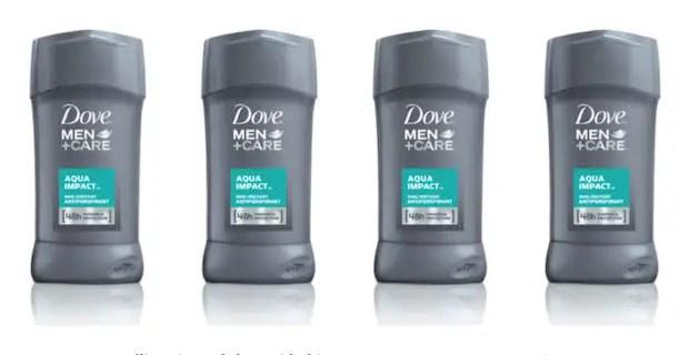 Dove + Care Deodorant