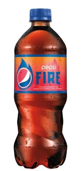 Pepsi launches limited-edition cinnamon flavored cola, Pepsi Fire, with their summer ìGet It While Itís Hotî campaign. (PRNewsfoto/PepsiCo)