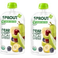Sprout Puree Pouches On Sale, Only $0.69 at Target!