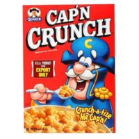 Quaker Cap'n Crunch Cereal On Sale, Only $0.25 at Family Dollar!