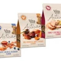 Save $0.75 Off Bag ofVita Bone Artisan Inspired Biscuits!