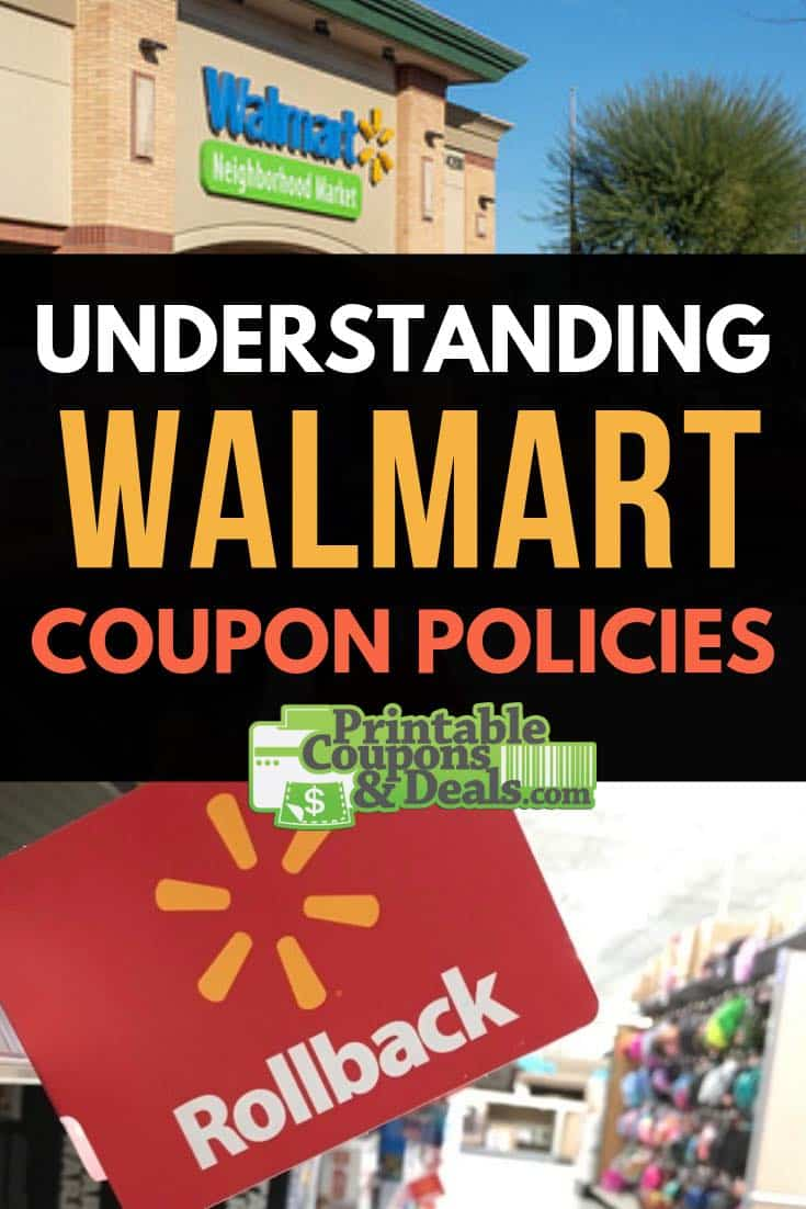 Understanding Walmart Coupon Policies